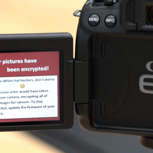 Canon DSLR Cameras Can Be Hacked With Ransomware Remotely