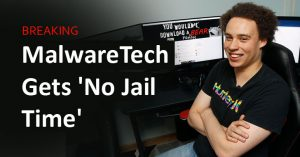 Judge Rules No Jail Time for WannaCry 'Killer' Marcus Hutchins, a.k.a. MalwareTech