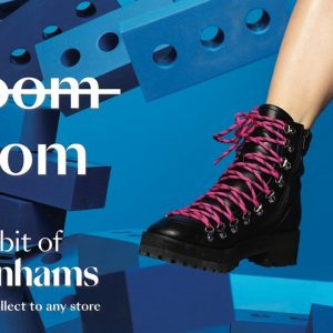 Gloom to boom: Debenhams hopes to reverse retail woes with £3m marketing push