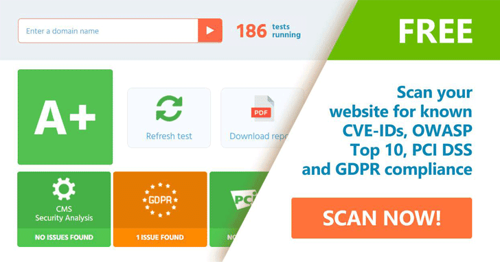 website security scanner