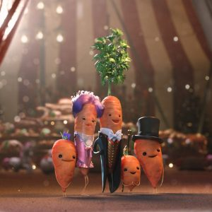 Aldi brings back Kevin the Carrot for Brussels sprout showdown