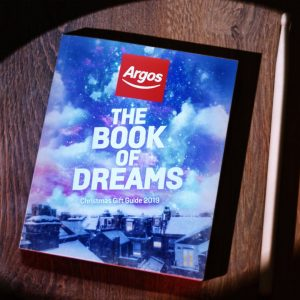 Argos harks back to its catalogue days for Christmas campaign