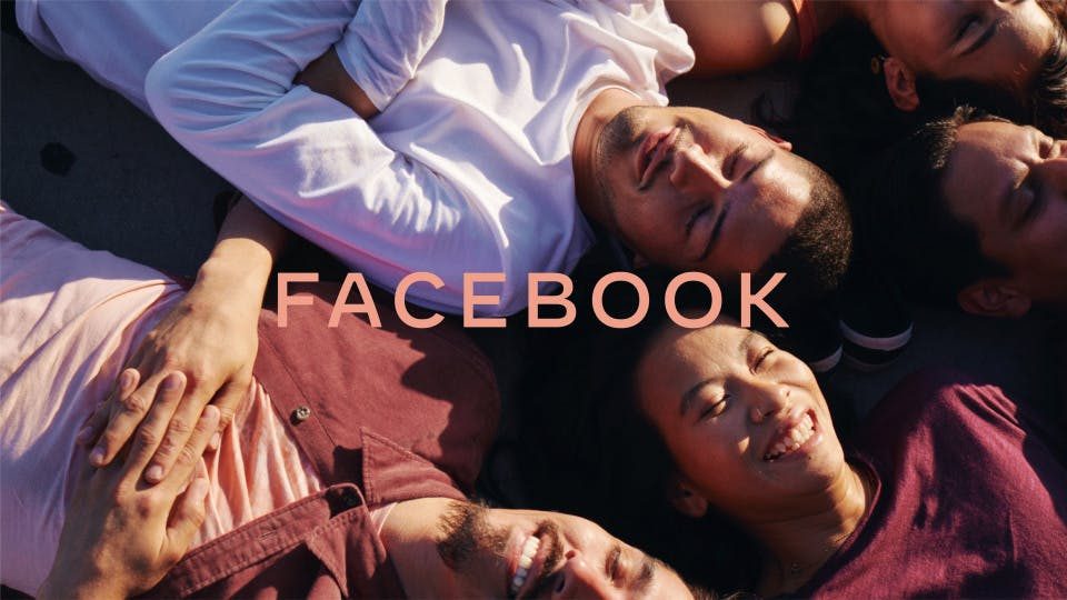 Facebook's new corporate branding aims to bring its family of apps closer together
