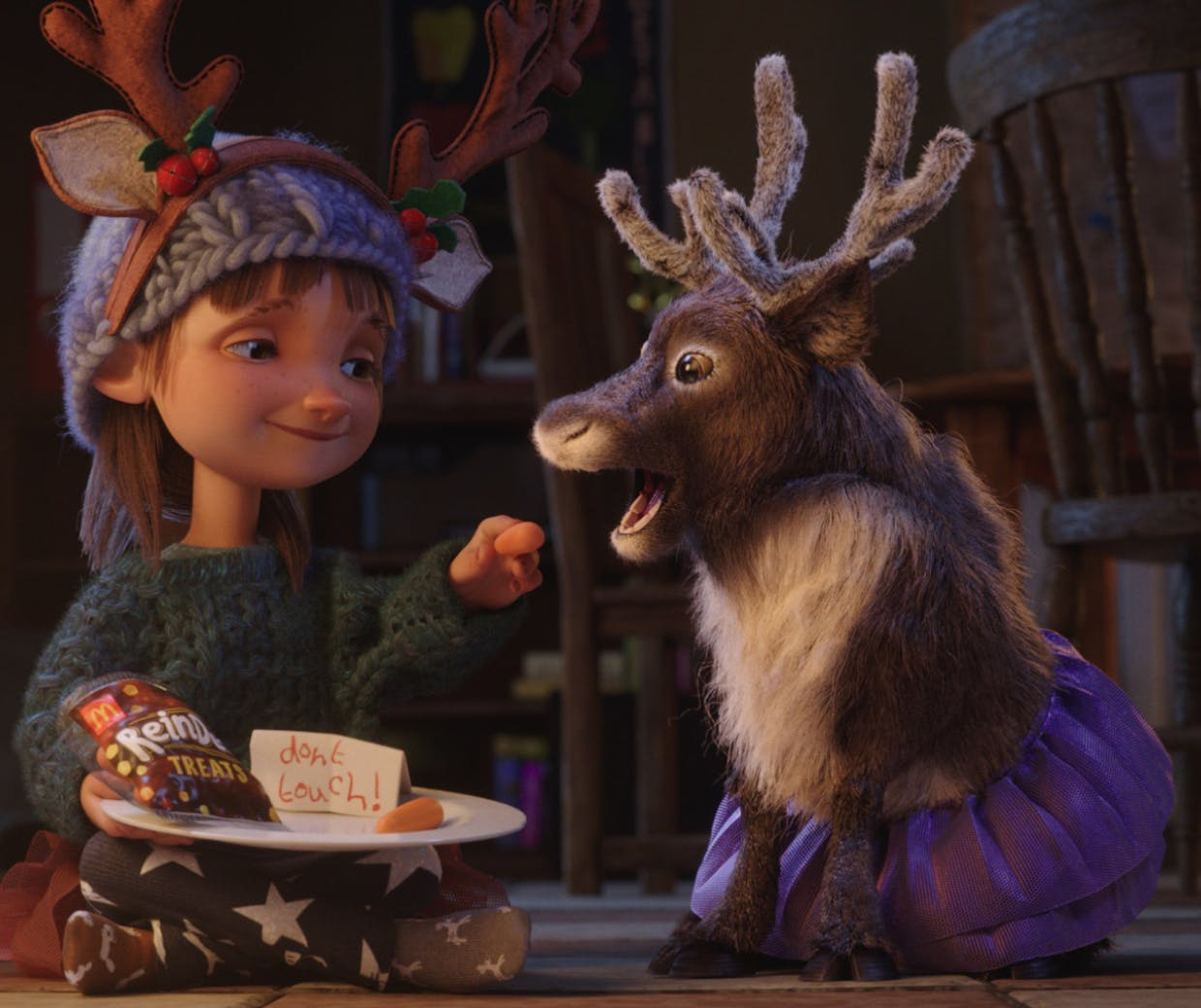 imagination in Christmas ad