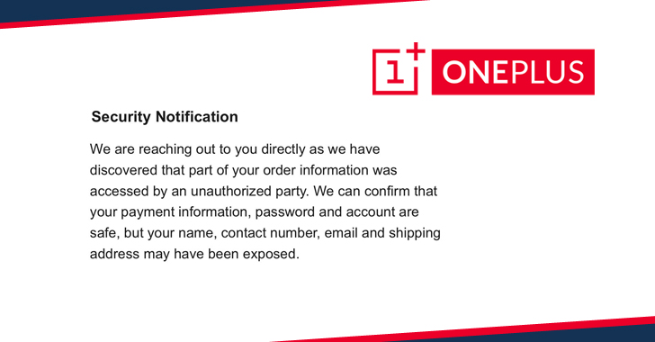 OnePlus Data Breach Hacking