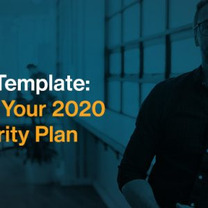 PPT Template: Build Your 2020 Security Plan