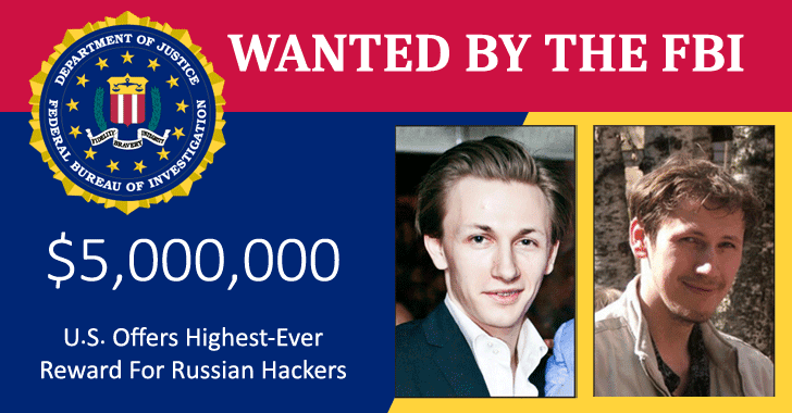 fbi wanted dridex russian hackers