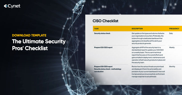 Free Download: The Ultimate Security Pros' Checklist