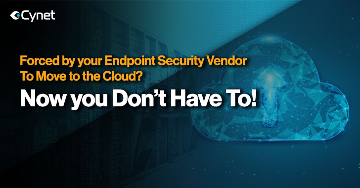 Is Your Security Vendor Forcing You To Move to the Cloud? You Don't Have To!