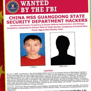 US Charges 2 Chinese Hackers for Targeting COVID-19 Research and Trade Secrets