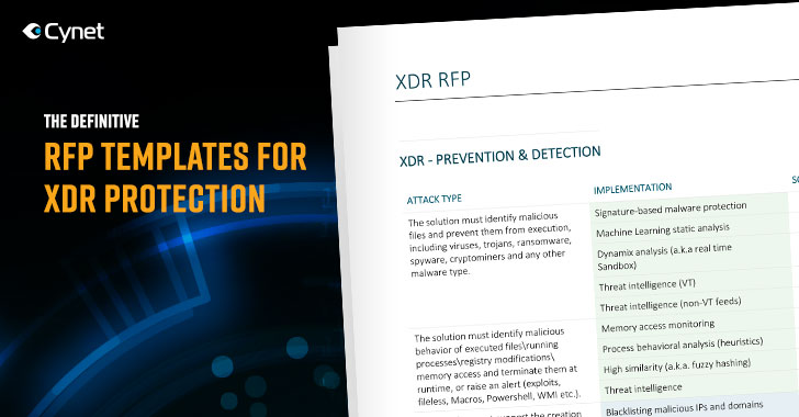 Use This Definitive RFP Template to Effectively Evaluate XDR solutions
