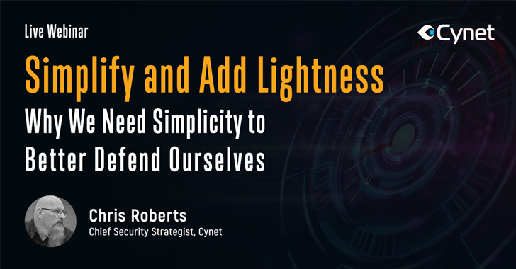 Simplify, then Add Lightness – Consolidating the Technology to Better Defend Ourselves