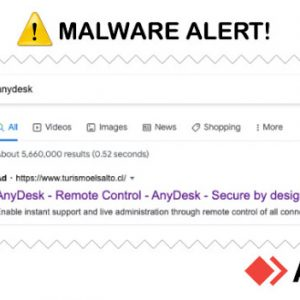 Malvertising Campaign On Google Distributed Trojanized AnyDesk Installer