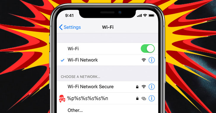 Turns Out That Low-Risk iOS Wi-Fi Naming Bug Can Hack iPhones Remotely