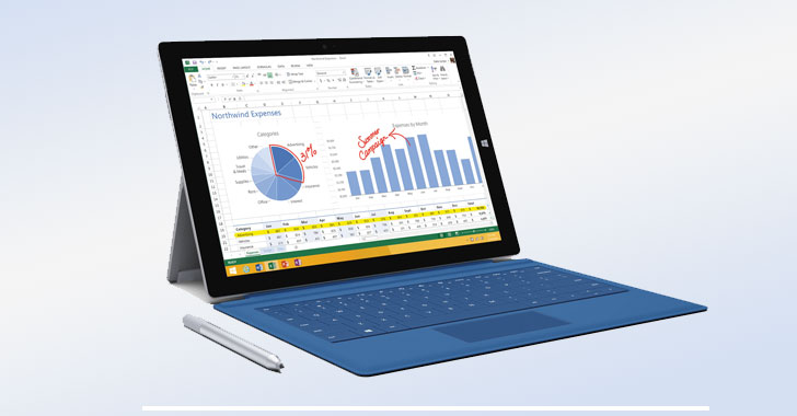 Microsoft Warns of New Security Flaw Affecting Surface Pro 3 Devices