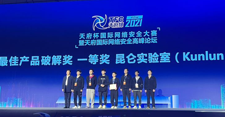 Windows 10, Linux, iOS, Chrome and Many Others at Hacked Tianfu Cup 2021